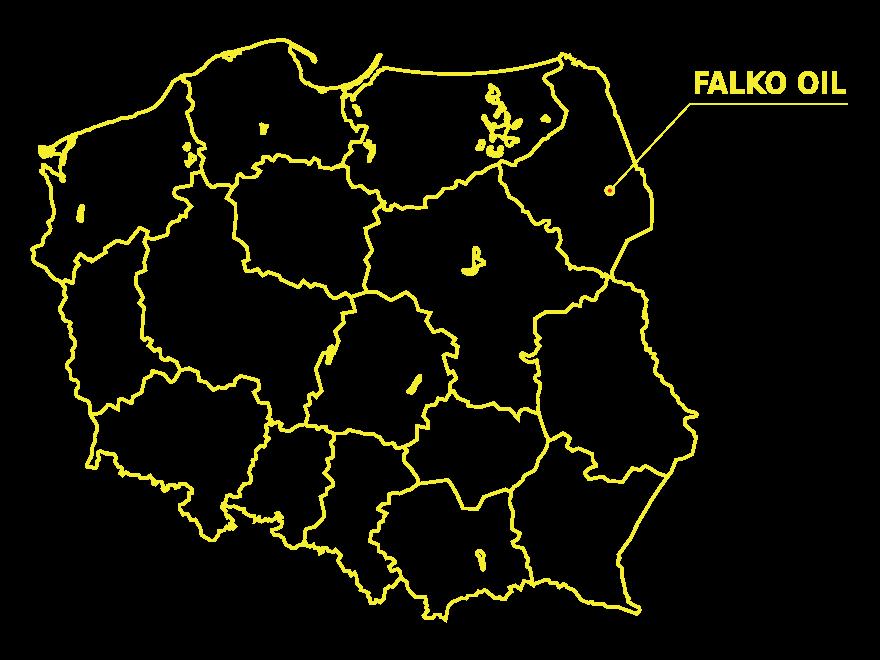 mapa falko oil